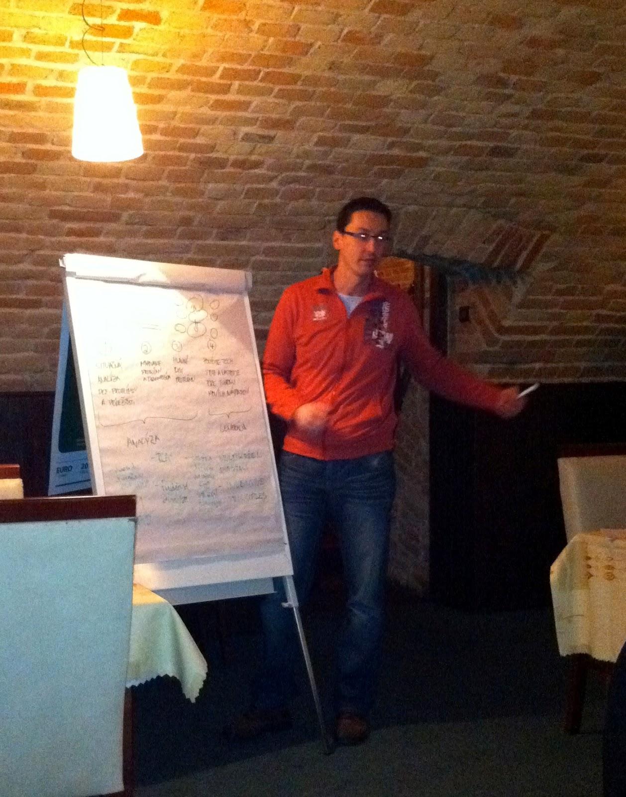 Radek Sedláček (ANF DATA) prezentuje techniku RCA+