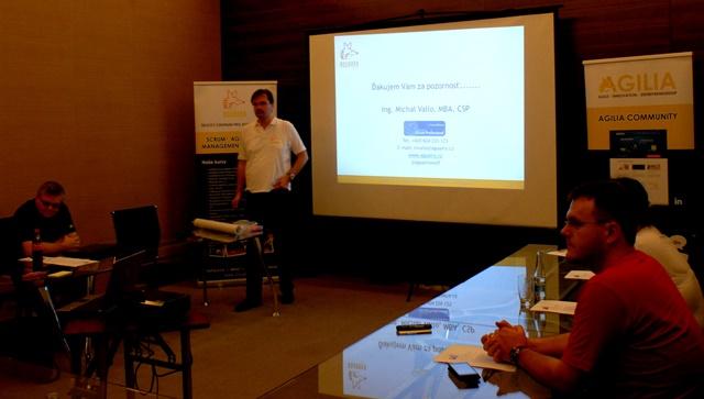 Michal Vallo presents ScrumMaster
